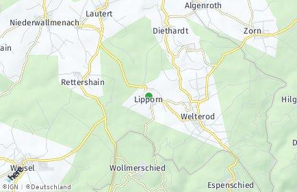 Stadtplan Lipporn