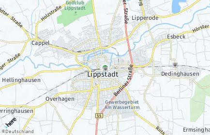 Stadtplan Lippstadt
