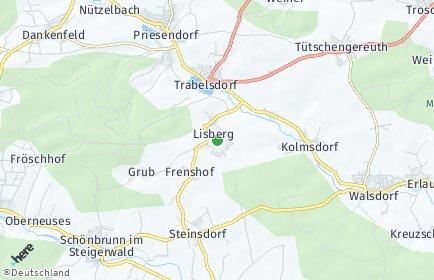 Stadtplan Lisberg
