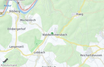 Stadtplan Lobbach