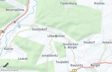 Stadtplan Löberschütz
