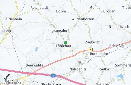 Stadtplan Löbichau