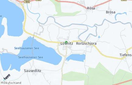 Stadtplan Löbnitz (Sachsen)
