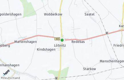 Stadtplan Löbnitz (Vorpommern)