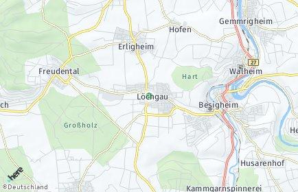 Stadtplan Löchgau