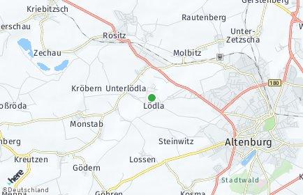 Stadtplan Lödla