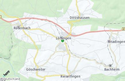 Stadtplan Löffingen