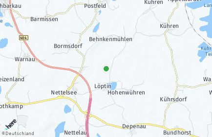 Stadtplan Löptin