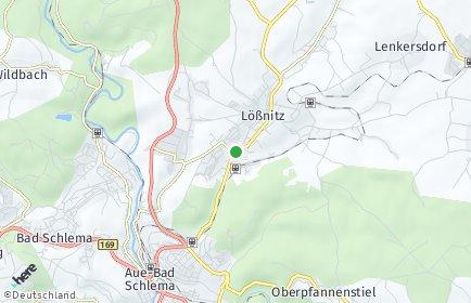 Stadtplan Lößnitz