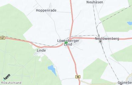 Stadtplan Löwenberger Land