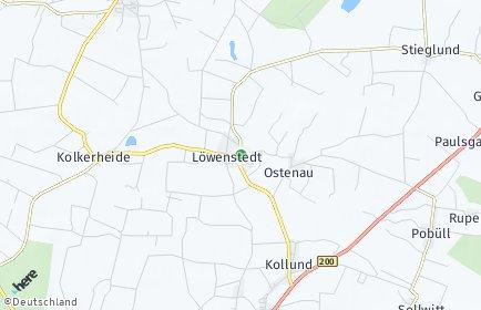Stadtplan Löwenstedt