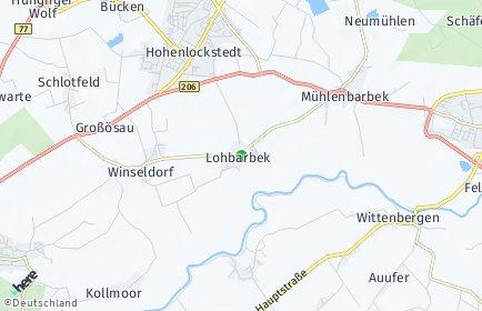 Stadtplan Lohbarbek