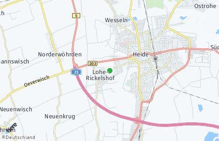 Stadtplan Lohe-Rickelshof