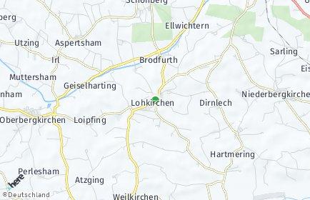 Stadtplan Lohkirchen
