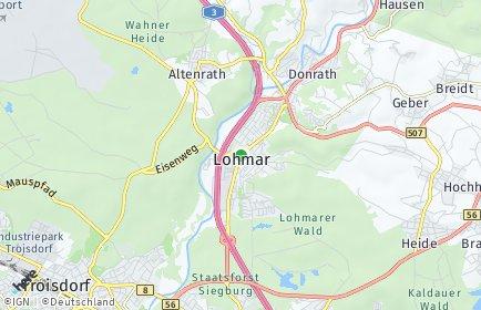 Stadtplan Lohmar