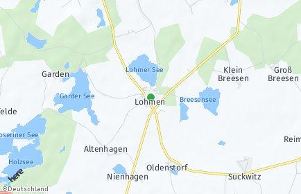 Stadtplan Lohmen (Mecklenburg)