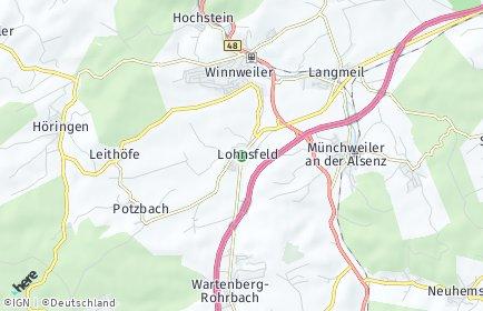 Stadtplan Lohnsfeld