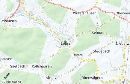 Stadtplan Lohra