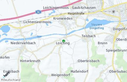 Stadtplan Loiching