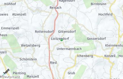 Stadtplan Loitzendorf