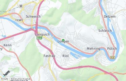 Stadtplan Longen