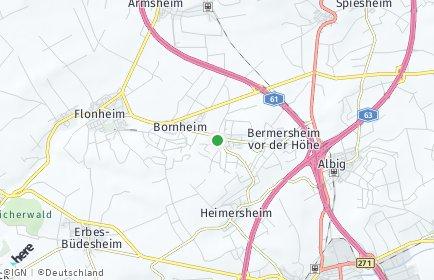Stadtplan Lonsheim