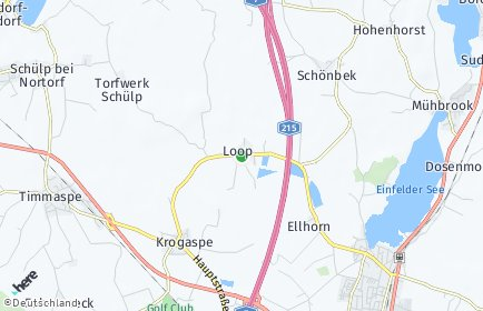 Stadtplan Loop