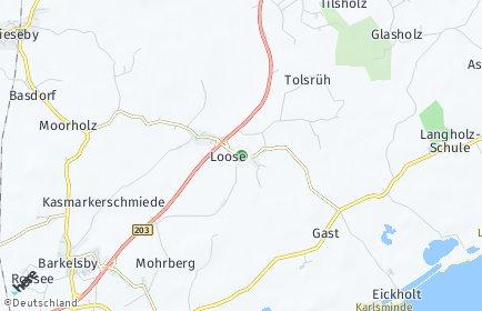 Stadtplan Loose
