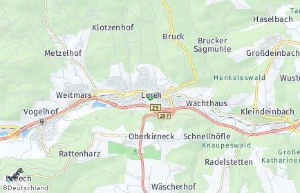 Stadtplan Lorch (Württemberg)