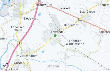 Stadtplan Loxstedt