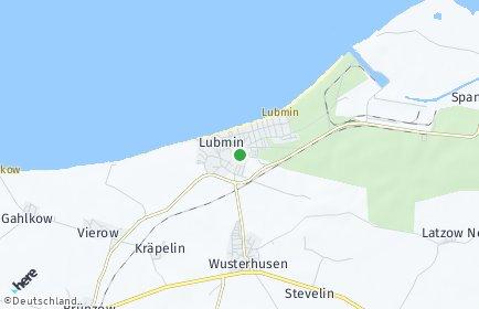 Stadtplan Lubmin