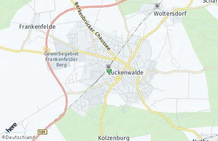 Stadtplan Luckenwalde
