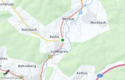 Stadtplan Ludwigsau