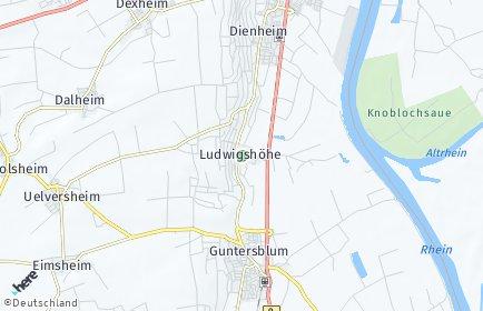 Stadtplan Ludwigshöhe