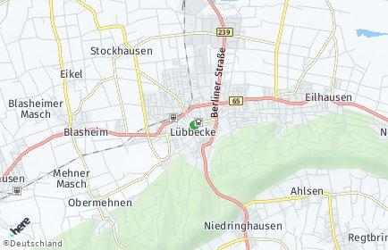 Stadtplan Lübbecke