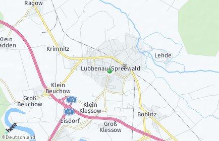 Stadtplan Lübbenau/Spreewald