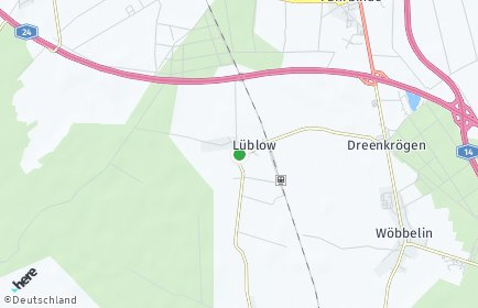 Stadtplan Lüblow