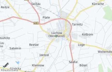 Stadtplan Lüchow (Wendland)