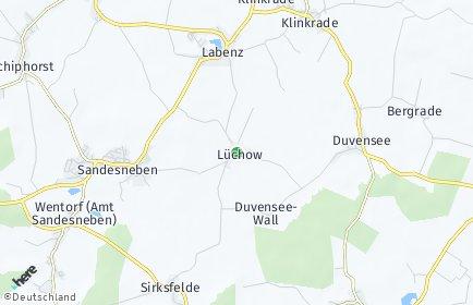 Stadtplan Lüchow (Lauenburg)