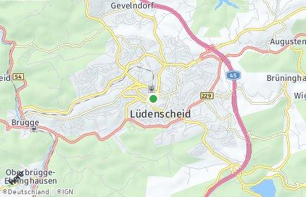Stadtplan Lüdenscheid