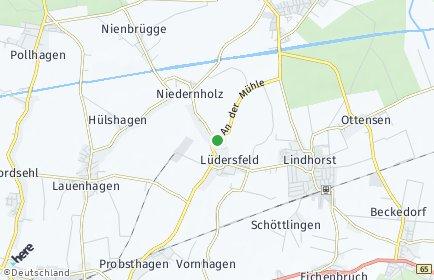 Stadtplan Lüdersfeld
