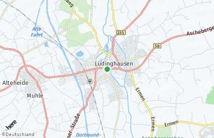 Stadtplan Lüdinghausen