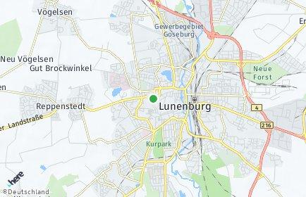 Stadtplan Lüneburg OT Altstadt