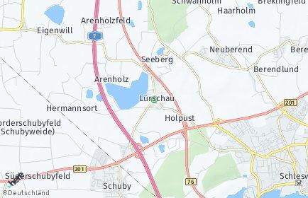 Stadtplan Lürschau
