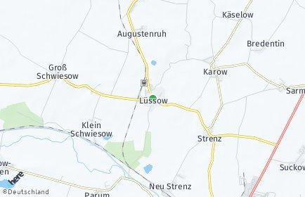 Stadtplan Lüssow (Mecklenburg)