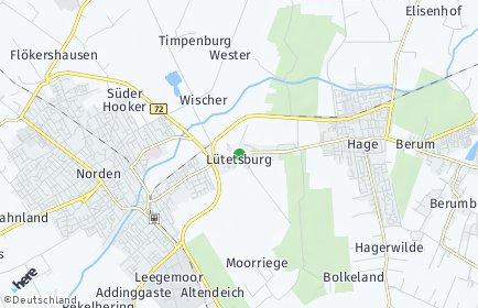 Stadtplan Lütetsburg