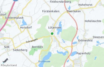 Stadtplan Lütjensee