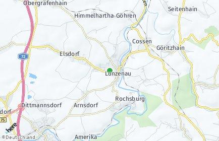Stadtplan Lunzenau