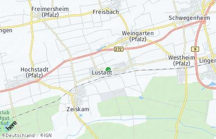Stadtplan Lustadt