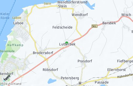 Stadtplan Lutterbek